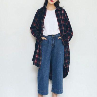 Các trend phối áo sơ mi nữ Hàn Quốc hot nhất hiện nay